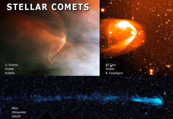 Heliospheres around other stars.