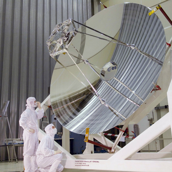The European Space Agency's Herschel Space Observatory.