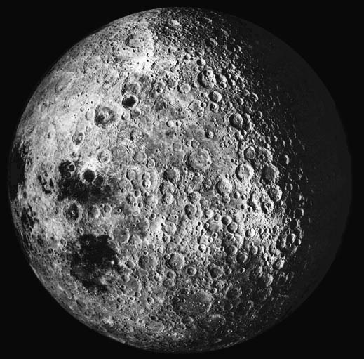 Far side of the Moon from Apollo 16