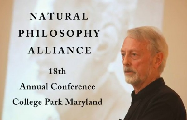 Wal Thornhill delivers a presentation to the Natural Philosophy Alliance.