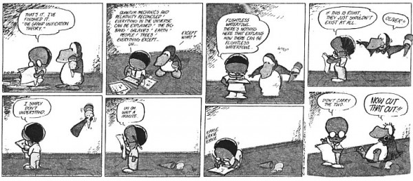 Theory of Everything - Bloom County style