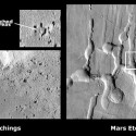 Etchings on Eros and Mars