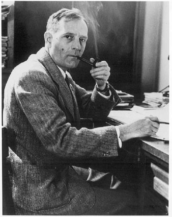 The astronomer Edwin P. Hubble